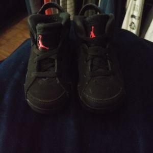 Size 7 kids Nike Jordans